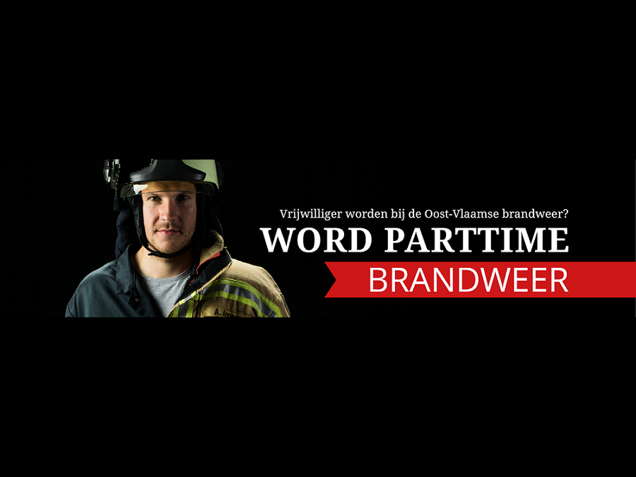 Parttime brandweermannen en -vrouwen gezocht