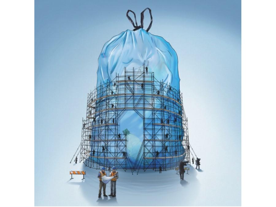 De nieuwe blauwe zak voor PMD